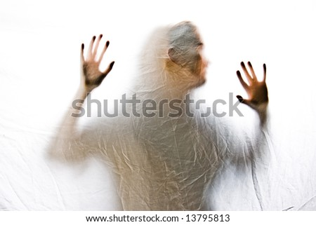 Trapped - stock photo