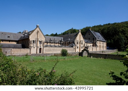 Trappist Abbey in Belgium - stock photo