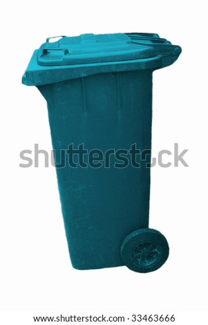trash can for garbage separation - stock photo