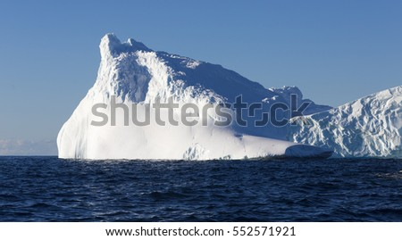 Travel among the Antarctic ices. Global warming on the planet and climate changes. Fantastic landscapes of the Southern continent