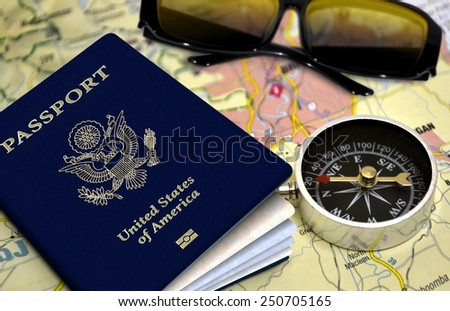 Travel and vacation concept - stock photo