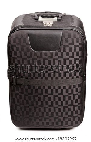 Travel bag isolated on white