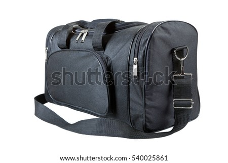 Travel bag (isolated on white background)