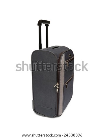 Travel bag isolated over white background