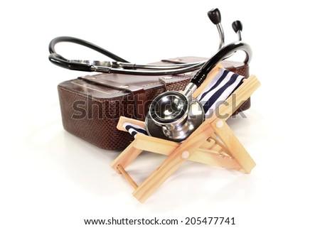 Travel health insurance - stock photo
