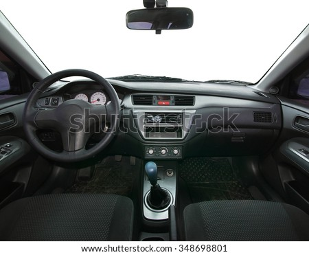 Travel in car. Isolated object. Element of design. - stock photo