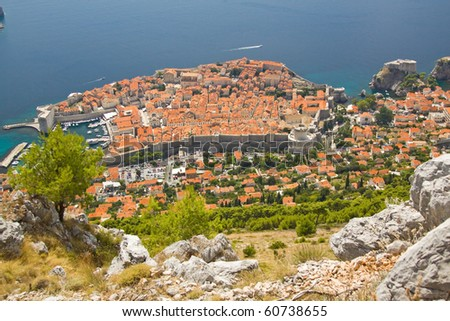 Travel in Croatia. Dubrovnik