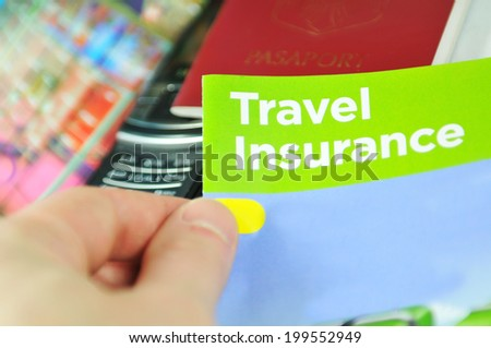 Travel insurance concept  - stock photo