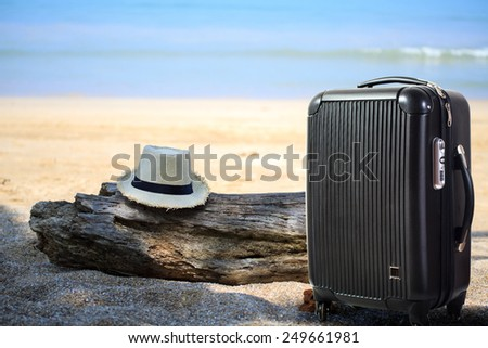 Travel luggage - stock photo