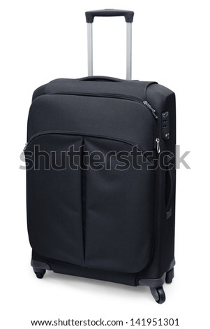 Travel suitcase - stock photo