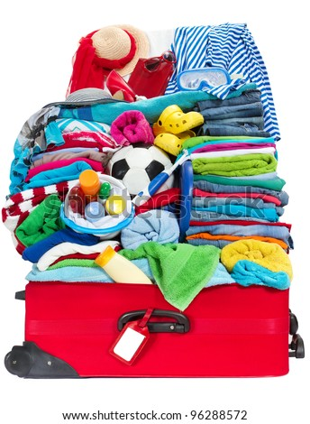 How to Pack Your Suitcase for Your Children's Holidays