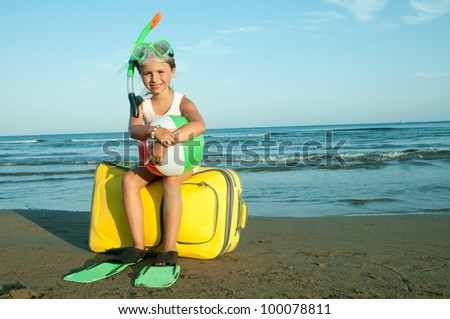 Travel, summer holiday - travel destination, beach resort - stock photo
