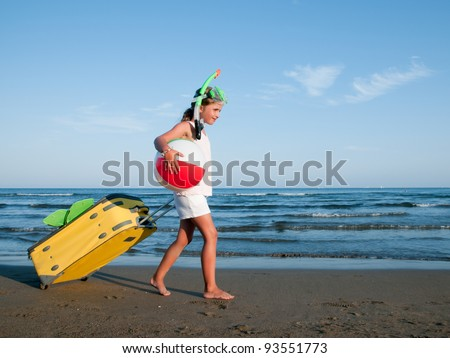 Travel, summer holiday - travel destination, beach resort - stock photo