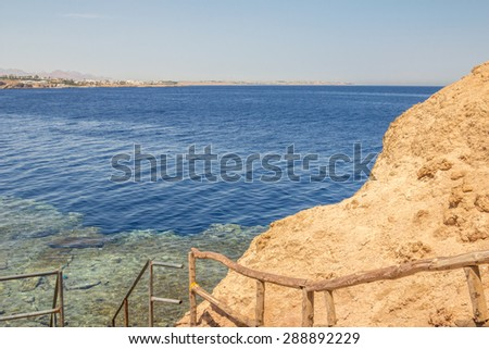Travel, the month of May, Egypt Red Sea views