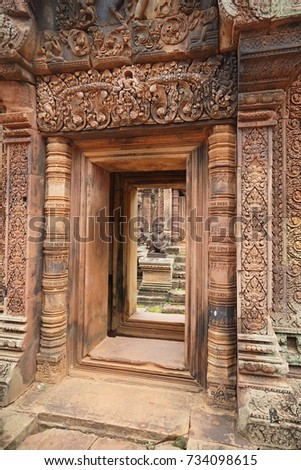 Travel to Cambodia, Natural and Ancient building