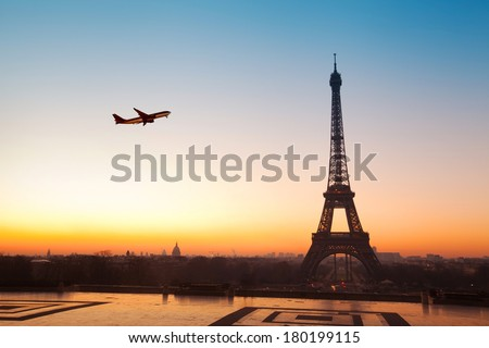 travel to Paris - stock photo