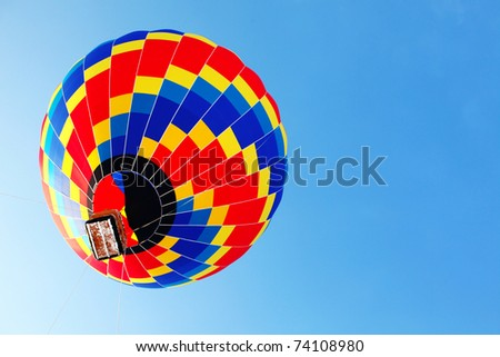 traveling by balloon