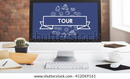 Traveling Destination Journey Holiday Concept - stock photo