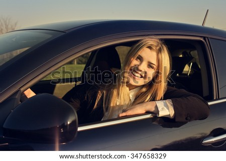 Travelling for fun - stock photo