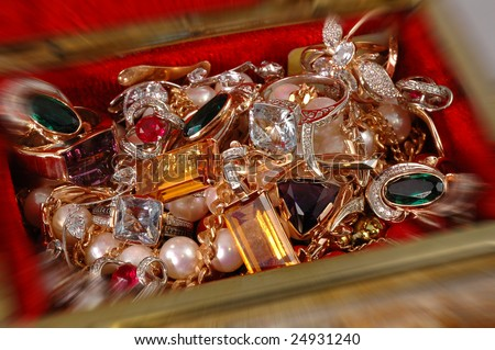 Treasure - stock photo