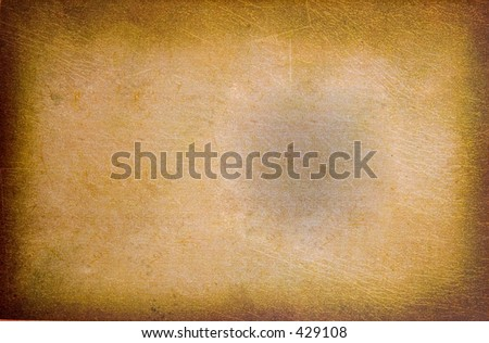 Treasure Map - background texture - stock photo