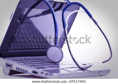 Treatment and diagnosis - stock photo