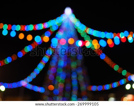 Tree colored circles - stock photo