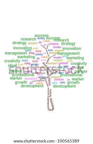 TREE for business concept - stock photo