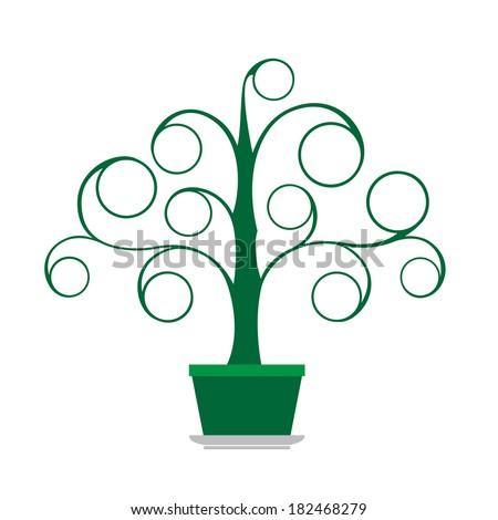 Tree green - stock photo