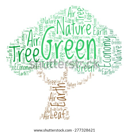 Tree - word cloud