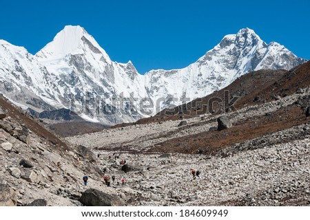 Trekking in Everest region, Nepal