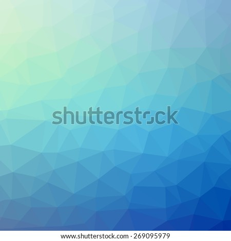 Triangle pattern background. Colorful mosaic banners illustration - stock photo