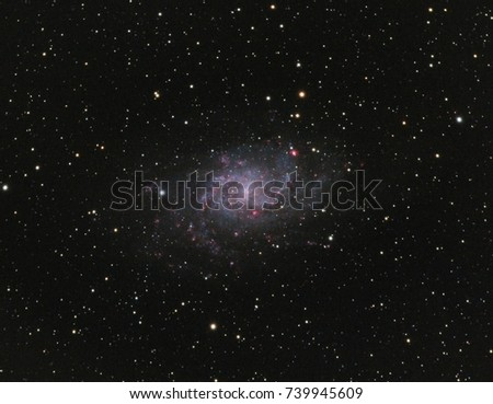Triangulum Galaxy or Messier 33.