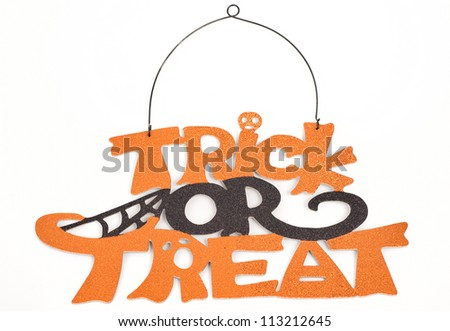 Trick or Treat - stock photo