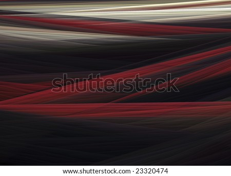 Tricolored abstract pattern dominated by the colors black, red and white