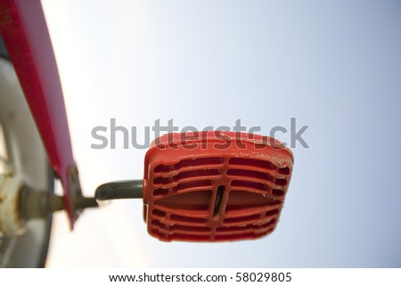 tricycle pedal - stock photo