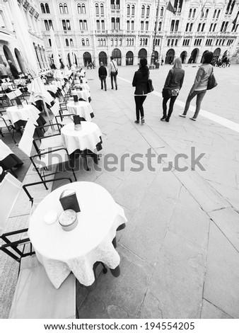 Trieste city, Italy - stock photo
