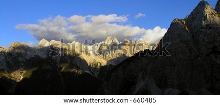 Triglav - stock photo