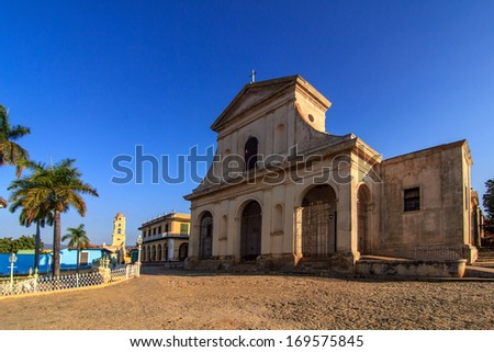 Trinidad - Church of the Holy Trinity - UNESCO World Heritage Site - stock photo