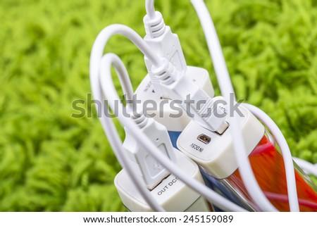 Triple energy - stock photo