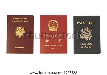Triple Identity - stock photo