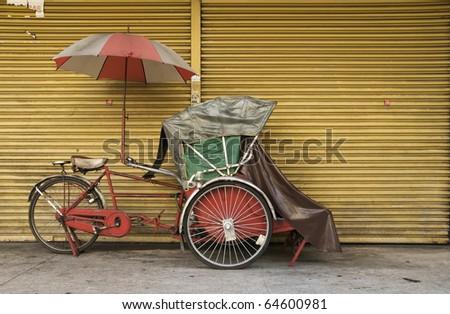 Trishaw 10 - stock photo