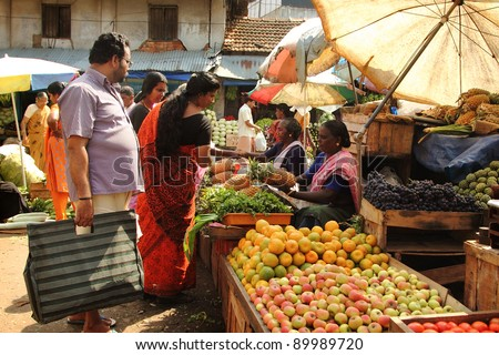India Vegetable Market Stock Photos, Images, & Pictures ...Kerala Vegetable Market