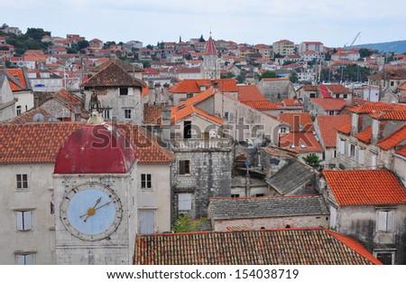 Trogir, Dalmatia, Croatia - stock photo