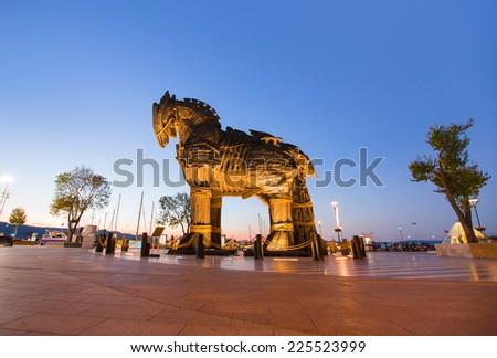 Trojan horse - stock photo