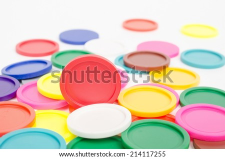 trolley tokens - stock photo