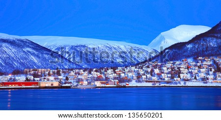 Tromso, Norway - stock photo
