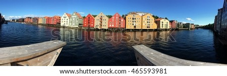 Trondheim old port