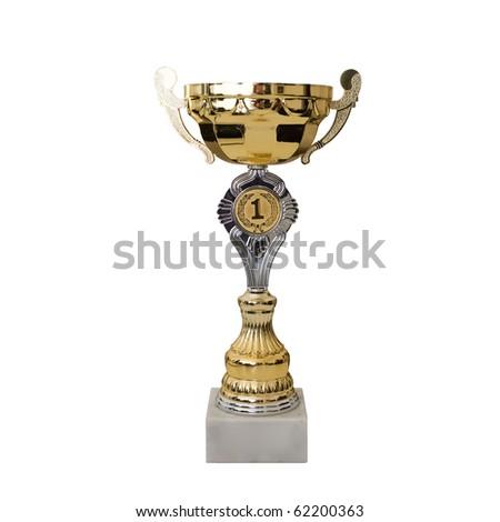 Trophy - stock photo