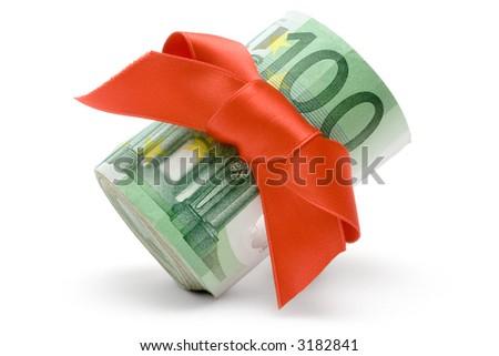 Trophy Money - stock photo